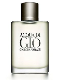 Giorgio Armani Acqua Di Gio Eau De Toilette 6.7oz., $108.00 *This is what I have been wearing for about 4 years now.