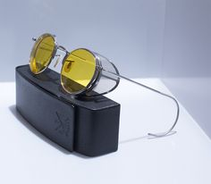 Holtzmann glasses from Ghostbusters (the Sterling Sport 23 fro O'Riginals Trading Co.)