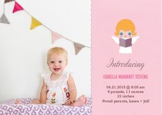 Little Angel Baby Announcement