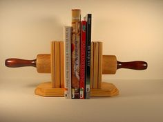 Rolling Pin Bookends-I want this for my kitchen