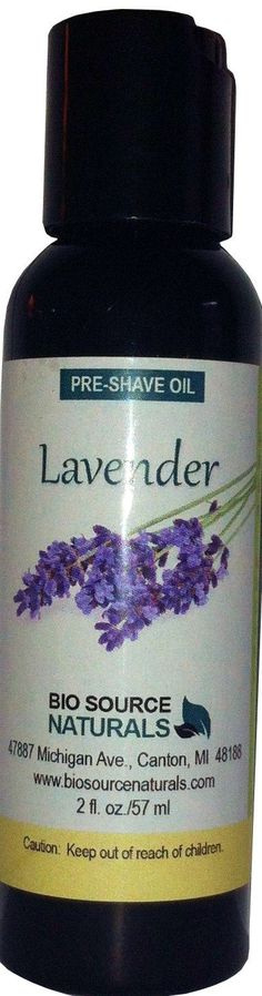Lavender Preshave Oil - 2 fl oz (60 ml)