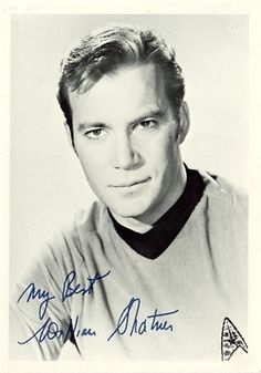 Kirk (William Shatner autograph)