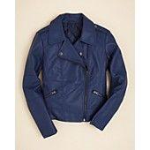 at bloomingdales Aqua Girls' Moto Jacket