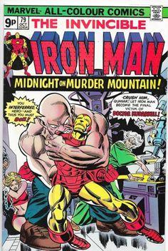 Iron Man #79 Bronze Age Marvel Comics George Tuska VF
