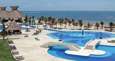 BlueBay Grand Esmeralda in Riviera Maya, Mexico - spent one day/night here and definitely want to go back!