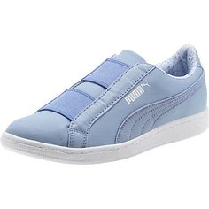 <H6>PRODUCT STORY</H6><p>The Vikky is one of our favorites. The perfect balance of feminine and sporty, its basketball-inspired silhouette features a full suede upper and a classic PUMA Formstrip...making it the perfect pair for on-the-go style. This version of the Vikky features a canvas upper and a slip-on construction for easy, on-the-go style.</p><br><h7>DETAILS</h7><ul><li>Canvas upper</li><li>Elasticiz...