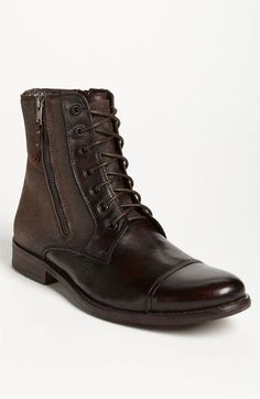 A Timeless classic, never out of fashion in Mens wear. We here at Mucho each pretty much own a pair of go to boots. Some have a variety. ( I am looking at you Rudy) blah blah blaj blah #MensFashion Kenneth Cole Reaction 'Hit Men' Boot | Nordstrom
