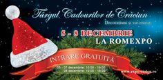 Va asteptam la Targul de Cadouri de Craciun Christmas Ornaments, Holiday Decor, Christmas Jewelry, Christmas Decorations, Christmas Decor