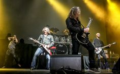 Thunder, May 2013, supporting Journey, photo by Marty Moffatt