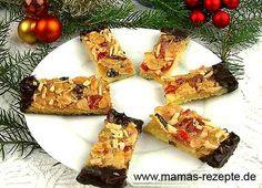 Florentiner Schnitten   Mamas Rezepte - mit Bild und Kalorienangaben