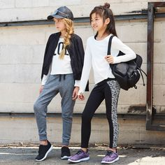 Mom's favorite trend now available for mini // Athleisure. Mom's favorite trend now available for mini // Athleisure. Teenage Girl Outfits, Little Girl Outfits, Kids Outfits, Spring Outfits, Athleisure Outfits, Sporty Outfits, Preteen Fashion, Kids Fashion, Fashion Clothes