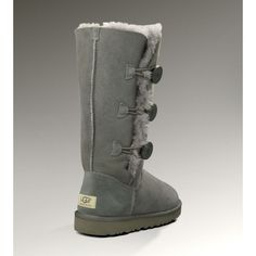 There is no doubt that the Women's UGG Bailey Button Triplet Boots 1873 in Grey can either be worn up or cuffed down adding a little variety depending on your style. The Bailey Button Triplet UGG Boots can either be worn up or cuffed down adding a little variety depending on your style.UGG Boots Clearance now also make some changes, that is, to bring more snow boots style. Whether it is winter or summer styles.