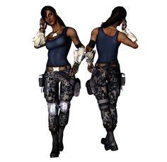 Jacqui Boot Camp new hair due Female Superheroes And Villains, Mortal Kombat Costumes, Hair Due, Playing Dress Up, New Hair, Black Men, Wonder Woman, Deviantart, Boot Camp