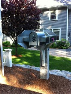 Star Wars T.I.E. Fighter mailbox
