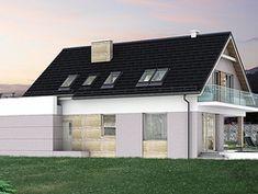 Wizualizacja HG-I22 CE House Layout Plans, Dream House Plans, House Layouts, Home Fashion, Garage Doors, House Styles, Outdoor Decor, Dom, Houses