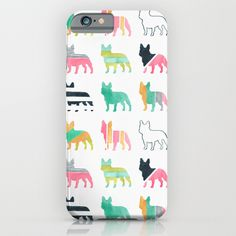 French Bulldogs iPhone & iPod Case by Anne Was Here   Society6