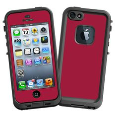 Crimson #Skin  for the #lifeproof #iphone5 and #iphone5s #Case by #Skinzy.com