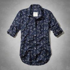 Womens The Classic Shirt   Womens Tops   Abercrombie.com