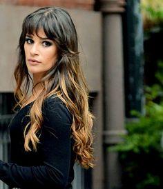 Gorgeous ombré hair, Lea Michele / Rachel Glee Season 4
