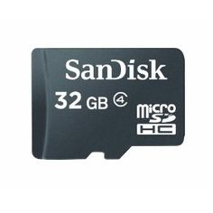 SanDisk microSDHC 32GB Flash Memory Card (Retail Packaging) SDSDQM-032G-B35,Black, (sandisk, microsdhc, memory, 32gb, class 2, memory card, micro sd, phone)