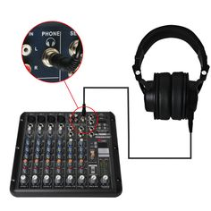Freeboss MDH9000 Monitor Headphones with 50mm Drivers Single-side Detachable cable RMV8 DJ Mixer Audio Mixer  #Affiliate