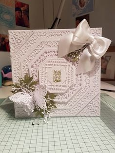 Wedding Cards Handmade, Handmade Tags, Greeting Cards Handmade, Chloes Creative Cards, Hexagon Cards, Tattered Lace Cards, Sue Wilson, Butterfly Cards, Heartfelt Creations