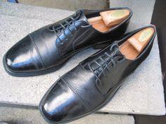 Florsheim Black Leather Dress Oxfords 10.5 #Florsheim #Oxfords