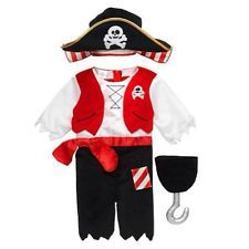Koala Kids Infant Boys Pirate Costume With Hat