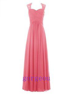 Lang Chiffon Abendkleider Cocktailkleid Ballkleider Brautjungfernkleid Gr: 32-46 | eBay