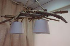 φωτιστικό οροφής από θαλασσοξυλα με καπέλα .....100χ35cm   για παραγγελίες τηλ.6976773699...driftwood lamp hanging
