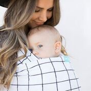 Carry your baby comfortably with the original wrap carrier from Moby! These classic wraps are easy to use & come in a rainbow of colors like black! Moby Wrap, Baby Co, Project Nursery, Kids And Parenting, Parenting Hacks, Baby Wearing, Baby Gear, Your Child, Cuddling