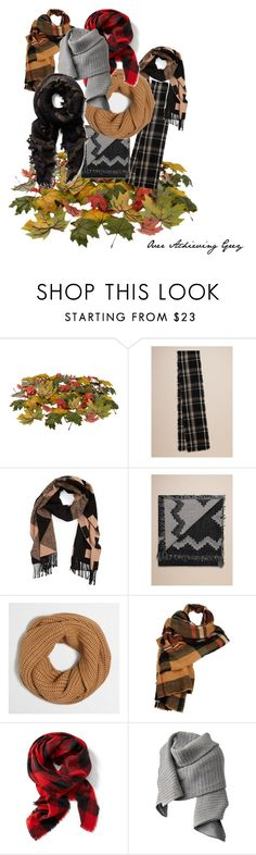 """""""Fall Scarves"""" by kersti-landra on Polyvore featuring Burberry, J.Crew, Wilsons Leather, Old Navy, Acne Studios, Fall and scarves"""