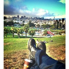 #Coffee Dolores Park, #PhilzCoffee