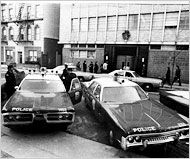 The Plymouth Fury in #1973.  Police Cars    Photograph by my father #MichaelEvans for the #NewYorkTimes