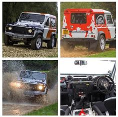 A Land Rover Defender rally series announced! (Photo Courtesy of AutoCar)
