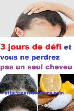 3 jours de défi et vous ne perdrez pas un seul cheveu Curly Hair Styles, Natural Hair Styles, 1920s Hair, Grow Hair, Ombre Hair, Hair Loss, Coco, My Hair, Black Hair