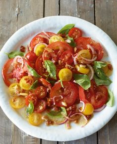 Bunter Tomatensalat - Gesunde Rezepte mit Tomaten - 16 - [ESSEN & TRINKEN]