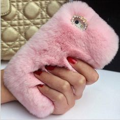 LH Rabbit hair Case For Samsung Galaxy S6 G9200 cases covers Top Quality Real Fur case Rhinestone Bling Plush Furry Hard-in Phone Bags & Cases from Phones & Telecommunications on Aliexpress.com | Alibaba Group