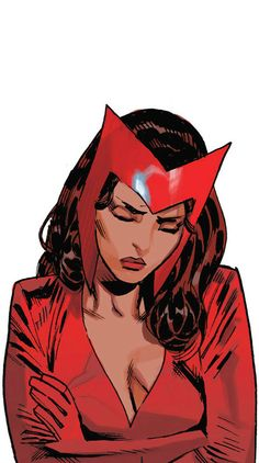 Scarlet Witch. One of my fave characters. She's awesome, and so cute.