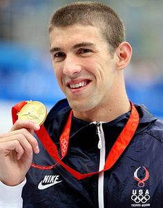 Michael Phelps...just three more!