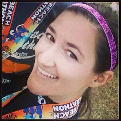 @Snow White White Thompson: @SPARKLYSOULINC ran 13.1 yesterday at the #myrtlebeachminimarathon and this awesome headband never moved! #waytosparkle #sparklysoulinc #numberonefitnessheadband #nonslip #fullelastic