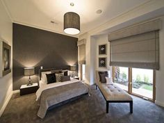 Modern Master Bedroom Design Picture