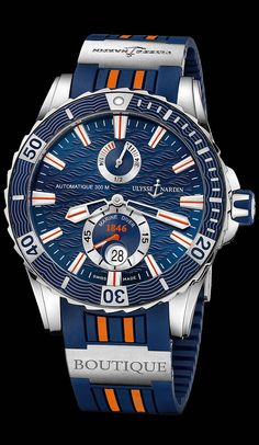 263-10LE-3/953-BQ - Marine Diver - Marine - Welcome to the Ulysse Nardin collection - Ulysse Nardin - Le Locle - Suisse - Swiss Mechanical Watch Manufacturer