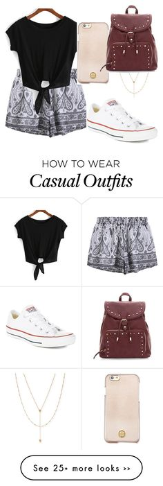 """""""#2"""" by annabellexp on Polyvore featuring Tory Burch, Jennifer Zeuner and Converse"""