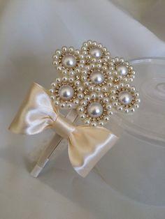 Headband flower girl wedding acessories by LilMajestyheadbands