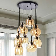 You'll love the Cherrie 8-Light Cluster Pendant at Wayfair.ca - Great Deals on all Lighting products with Free Shipping on most stuff, even the big stuff.