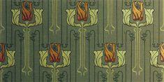 Arts & Crafts Wallpaper, Craftsman Style Wallpaper | Burnaby Wallpaper in Forest Green | Bradbury & Bradbury