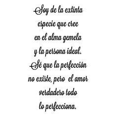 El verdadero amor espera!!! #esperanza #almagemela #especie #amor #perfección