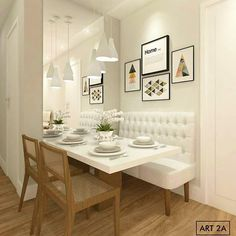 dining room 3518505947171938 - Banquette seating dining room banquet kitchen nook 46 Best ideas Source by Dining Nook, Home Decor Kitchen, Dining Room Small, Dining Interior, Dining Room Bench Seating, Home Decor, Dining Room Decor, Interior Room Decoration, Small Dining
