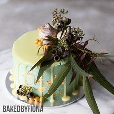 "Sydney Cakes, Baked by Fiona 6"" Aussie bush cake. #birthdaycake"